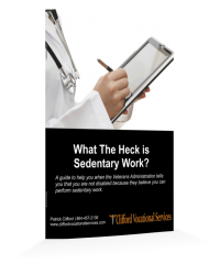 Veterans_ What The Heck is Sedentary Work